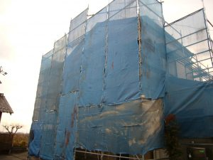 外壁塗装足場