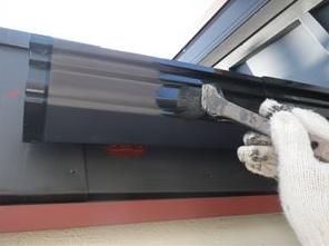 外壁塗装付帯部